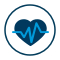 membership heartbeat icon